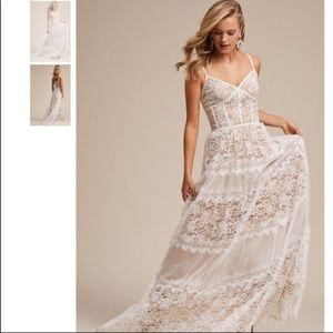 BHLDN Uma  White Lace dress new with tag